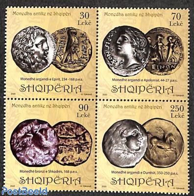 Antique coins 4v [+]