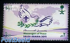 Scouting, messengers of peace 1v