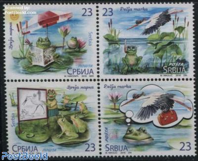 Childrens Stamps 4v [+]