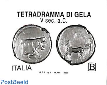 Tetradramma di Gela 1v s-a