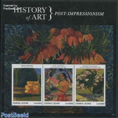 History of Art 3v m/s, Post-Impressionism