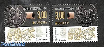 Europa, Old postal roads 2v