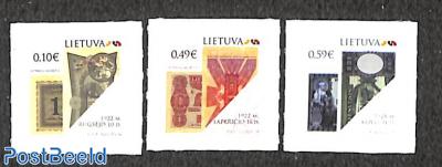 Historical banknotes 3v s-a