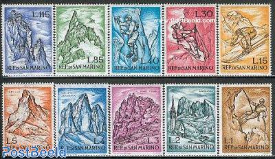 Mountains 10v