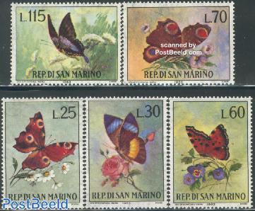 Butterflies 5v