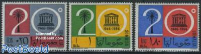 20 years UNESCO 3v