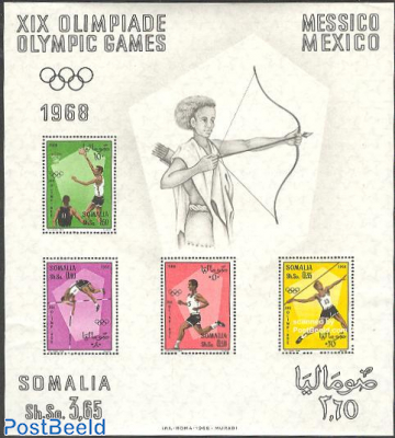 Olympic Games Mexico s/s