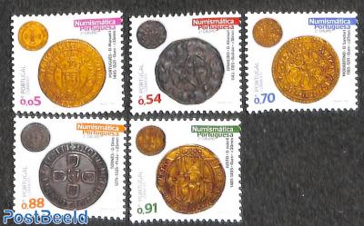 Old coins 5v