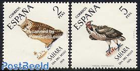 Stamp Day, birds 2v
