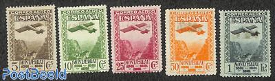 Montserrat cloister, airmail 5v