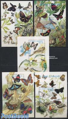 Butterflies 5 s/s