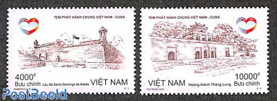 Joint issue with Cuba 2v