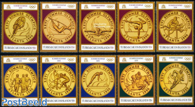 Olympic golden medals 10v