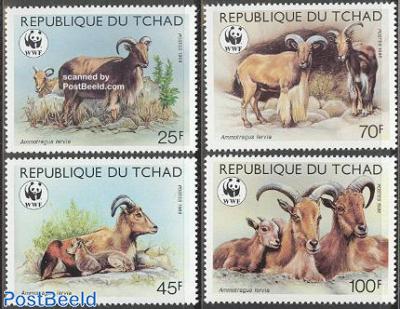 WWF, Barbary sheep 4v