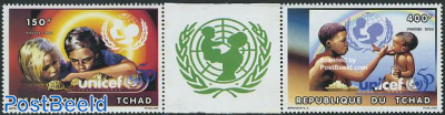 50 years UNICEF 2v+tab [::]