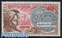 Westafrican currency 1v