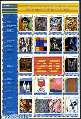 Millennium, 20th century paintings 17v m/s