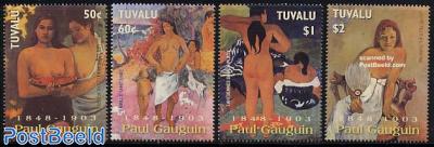 Paul Gaugin 4v