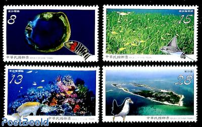 National park Dongsha Atoll 4v