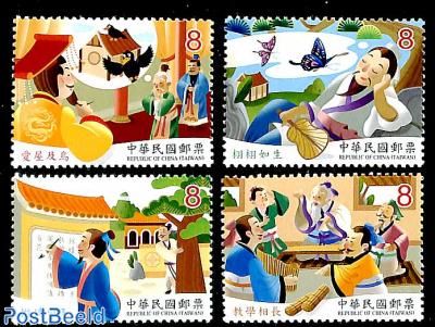 Chinese stories 4v