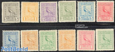 Definitives, bird 12v