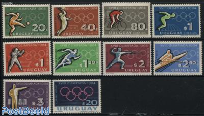 Olympic Games Tokyo 10v
