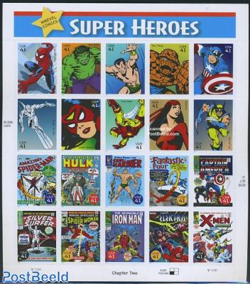 Super Heroes 20v m/s