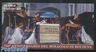 750 Years Miracle of Bolsena s/s