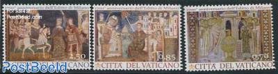 1700 Years Edict of Milan 3v