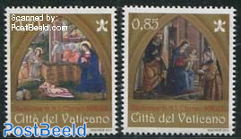 Christmas 2v, joint issue Aland