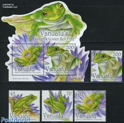 Green frog 4v+s/s