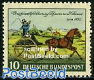 Thurn & Taxis stamp centenary 1v