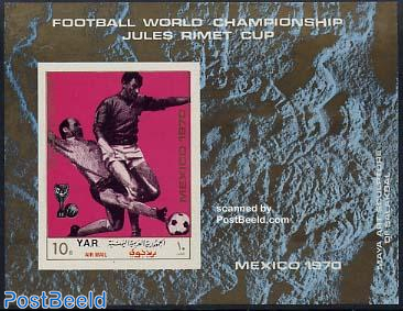 World Cup Football s/s imperforated