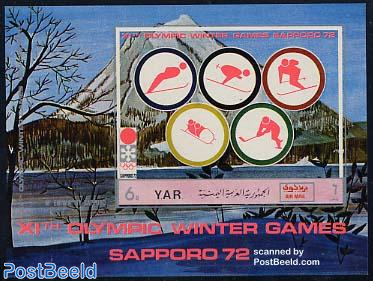 Olympic Winter Games s/s imperforated