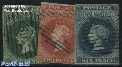 Queen Victoria 3v