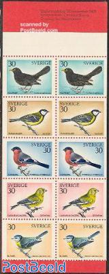 Birds 2x5v in booklet