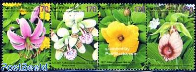Flowers 4v [:::] or [+], fragrant stamps