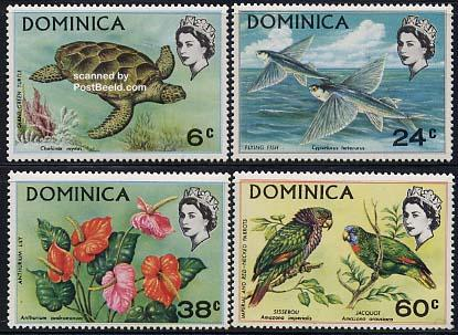 Flora & fauna 4v