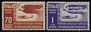 Quito philatelic exposition s/s