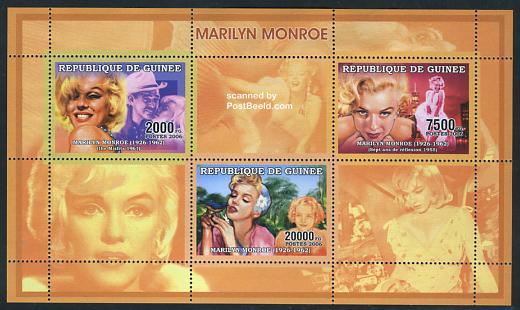 Marilyn Monroe 3v m/s