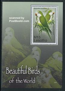 Beautiful birds of the world s/s