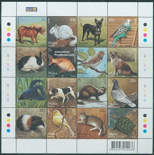 Domestic animals 16v m/s