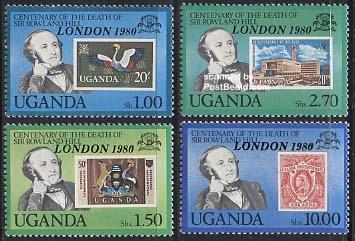 London 1980 4v