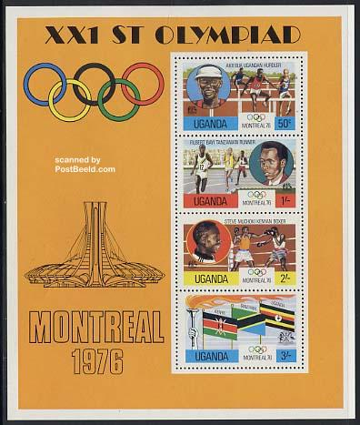 Olympic games Montreal s/s