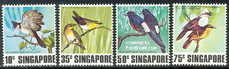 Singing birds 4v