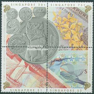 Coins, banknotes 4v [+].