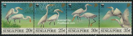 WWF, birds 4v [:::]