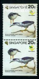 Birds booklet pair