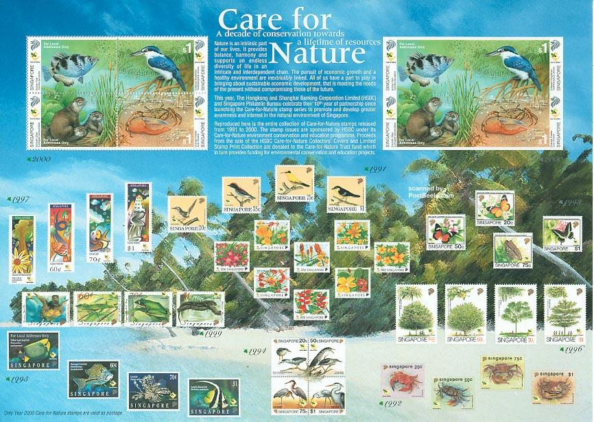 Nature conservation minisheet
