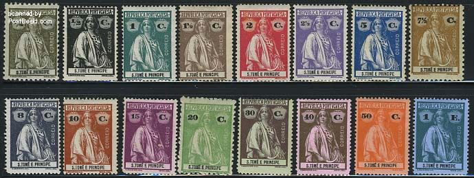 Definitives, Ceres 16v